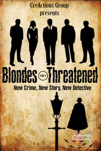 "Movie ""Blondes Threatened"""